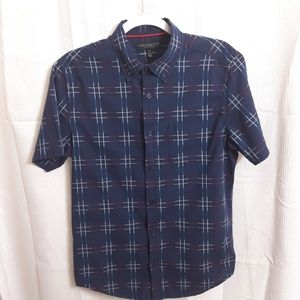 Aeropostale Short Sleeve Button Down Shirt